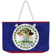 Flag Of Belize Weekender Tote Bag