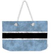 Flag Of Botswana Weekender Tote Bag