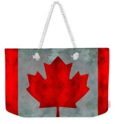 Flag Of Canada Weekender Tote Bag