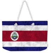 Flag Of Costa Rica Weekender Tote Bag