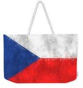 Flag Of Czech Republic Weekender Tote Bag