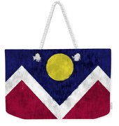 Flag Of Denver Weekender Tote Bag