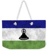Flag Of Lesotho Weekender Tote Bag