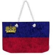 Flag Of Liechtenstein Weekender Tote Bag