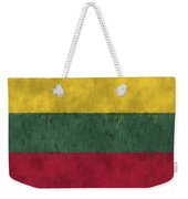 Flag Of Lithuania Weekender Tote Bag