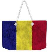 Flag Of Romania Weekender Tote Bag