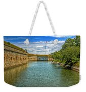 Flag Over The Moat Weekender Tote Bag