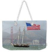 Flag Ship Weekender Tote Bag