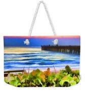 Flagler Beach Beautiful Weekender Tote Bag