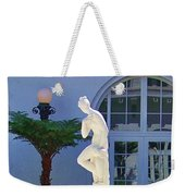 Reflection Of A Courtyard Weekender Tote Bag