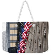 Flags In A Row Weekender Tote Bag