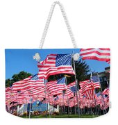 Flags Of Glory Weekender Tote Bag