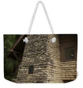 Flagstone Fireplace Weekender Tote Bag