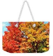 Flamboyant Autumn Weekender Tote Bag