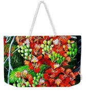 Flamboyant In Bloom Weekender Tote Bag by Karin  Dawn Kelshall- Best