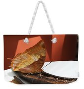 Flame-bordered Charaxes Butterfly #2 Weekender Tote Bag