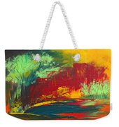 Flame In The Night Weekender Tote Bag