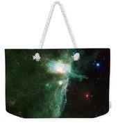 Flame Nebula Weekender Tote Bag by Adam Romanowicz