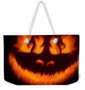Flame Pumpkin Weekender Tote Bag