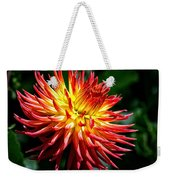 Flame Tips Weekender Tote Bag