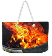Flames 03 From The Firemen Series Weekender Tote Bag