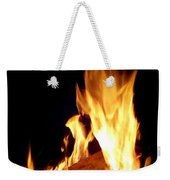 Flames In The Dark Weekender Tote Bag
