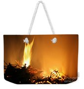 Flames Weekender Tote Bag