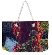 Flaming Beauty Weekender Tote Bag