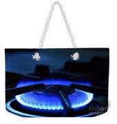 Flaming Blue Gas Stove Burner Weekender Tote Bag