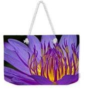 Flaming Heart Weekender Tote Bag by Susan Candelario