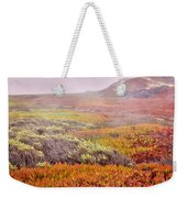 Flaming Ice Weekender Tote Bag