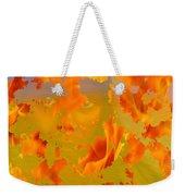 Flaming Indian Girl Sunset Weekender Tote Bag