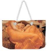 Flaming June Weekender Tote Bag