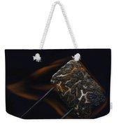 Flaming Marshmallow Weekender Tote Bag