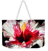 Flaming Petals Weekender Tote Bag