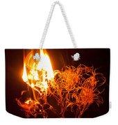 Flaming Seedheads Weekender Tote Bag