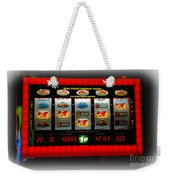 Flaming Sevens Slots Weekender Tote Bag