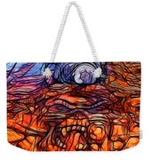 Flaming Vette 2 Weekender Tote Bag