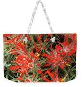 Flaming Zion Paintbrush Wildflowers Weekender Tote Bag