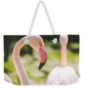 Flamingo Bird Portrait. Weekender Tote Bag