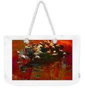Flamingo Colours Weekender Tote Bag