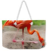 Flamingo Four Weekender Tote Bag