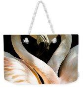 Flamingo Heart Weekender Tote Bag