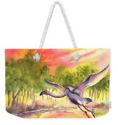 Flamingo In Alcazar De San Juan Weekender Tote Bag