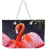 Flamingo In The Wild Weekender Tote Bag