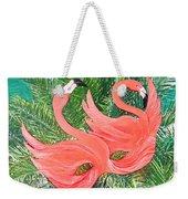 Flamingo Mask 1 Weekender Tote Bag