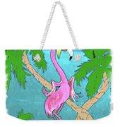 Flamingo Miranda Weekender Tote Bag