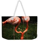 Flamingo Mirrored Weekender Tote Bag