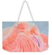 Male Flamingo Weekender Tote Bag