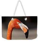 Flamingo Portrait Weekender Tote Bag